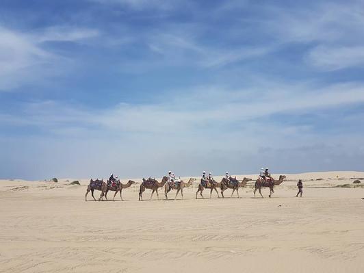 Anna Bay sand dunes