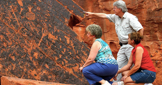 Valley of Fire plus the Lost City Museum Tour from Las Vegas specials