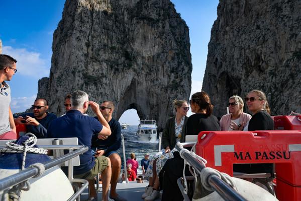 Discover Capri from the sea