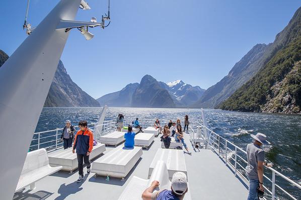 Milford Sound cruise voucher