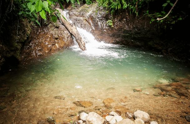 Water fall pool