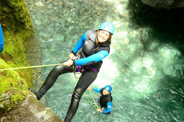 deal mount aspiring canyoning