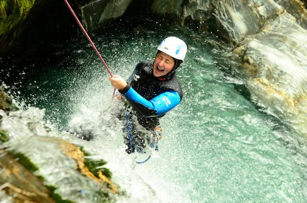 mount aspiring canyoning best tour