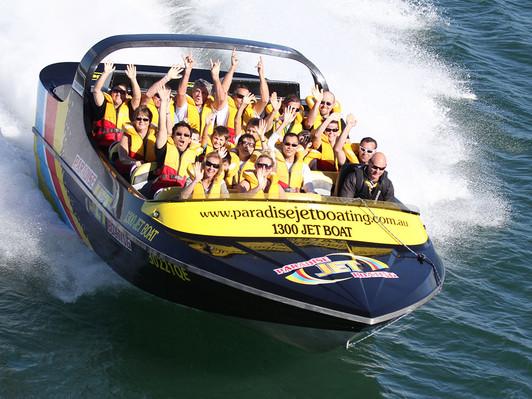 Jet Boating Broadwater