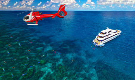 Dive & Snorkel Full Day Tour With Helicopter Ride
