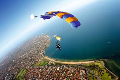 Skydive Melbourne St Kilda