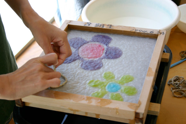 LEARN WASHI ART OF JAPANESE PAPER MAKING - DRAW A PICTURE