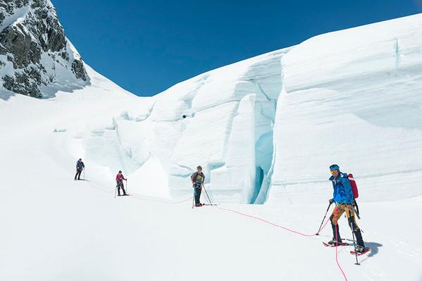 Tasman Glacier Hike