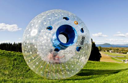 Zorb Rotorua - MEGA Track - H2OGO