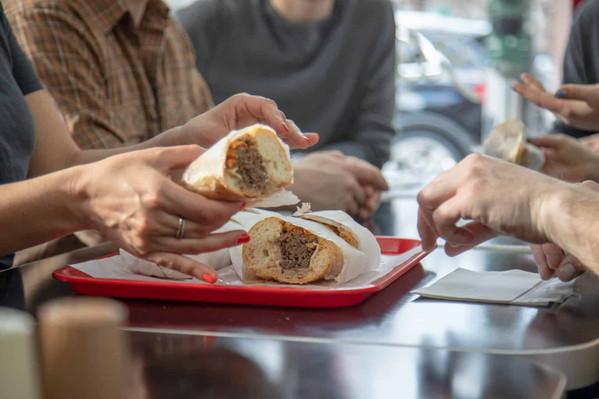 Chicago Italian sandwich