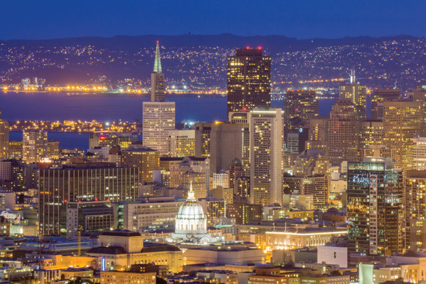 San Francisco Night Tour Bus