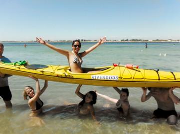 Seal And Penguin Islands Sea Kayak Day Tour