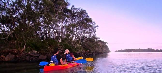 brunswick heads kayak