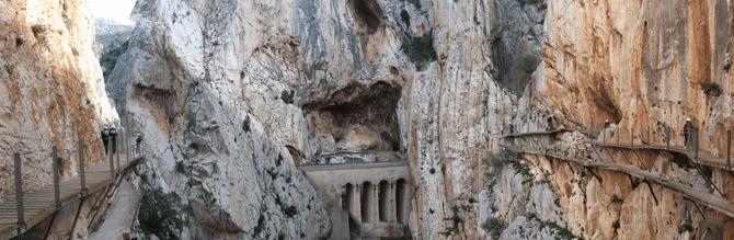 Panoramic Caminito del Rey