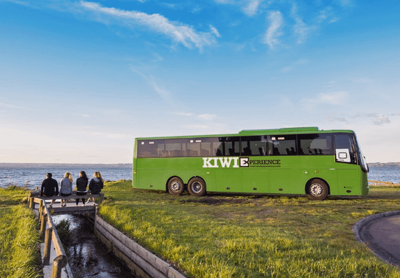 best new zealand bus pass north and south island