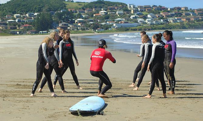 Sydney surfing tour discount