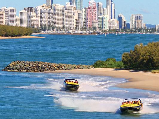 Broadwater Adventure Jet Boat Ride