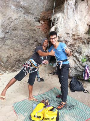 Thailand Krabi rock climbing tours discount