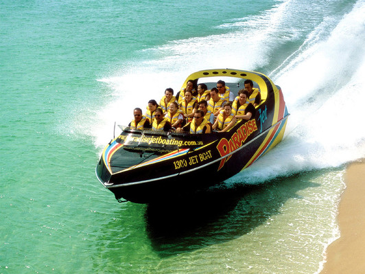 Broadwater Adventure Jet Boat Ride Special