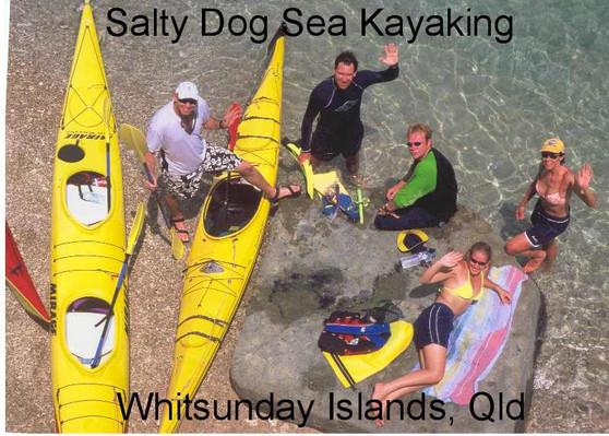 Whitsunday kayaking backpacker tours