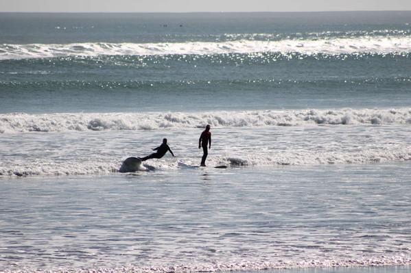 Raglan private surf lessons