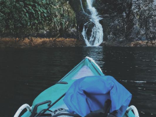 Kayak doubtful sound new zealand