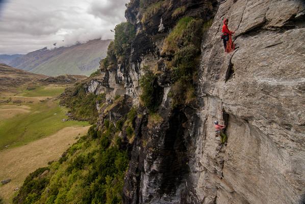 fun tour rock climbing wanaka