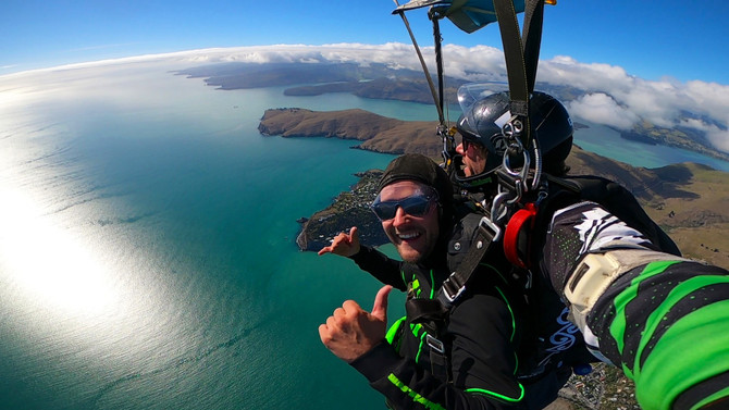 Skydiving Christchurch specials
