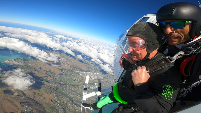 Scenic Helicopter flight christchurch deals