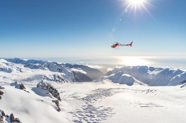 new zealand glacier flight
