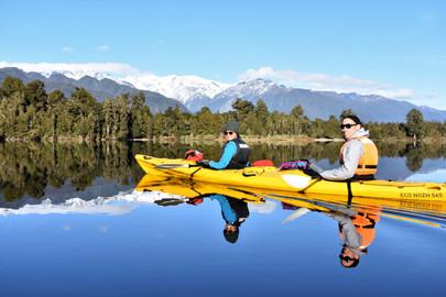 Franz Josef Classic Kayak Adventure with Walk Combo Upgrade