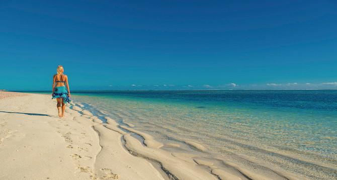 Lady on the Beach Ningaloo Reef, Exmouth Tourism WA 113179-56.jpg