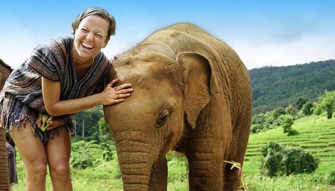 Elephant sanctuary tour Thailand