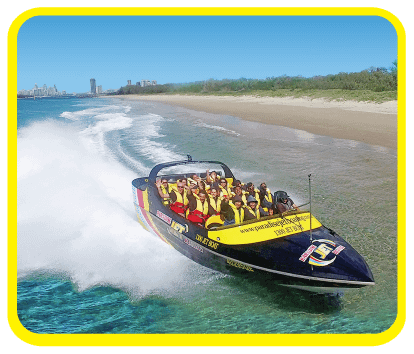 Broadwater Adventure Jet Boat Ride Deals