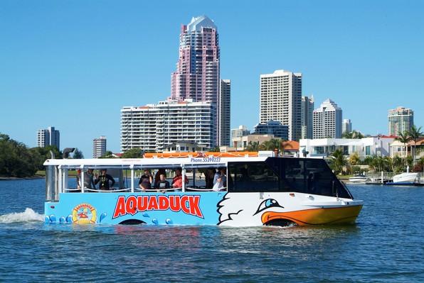 Aquaduck One hour city and river tour