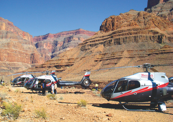 Grand Canyon 6 in 1 with Helicopter Flight