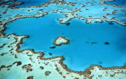 Whitsundays and Heart Reef 1 Hour Scenic Flight