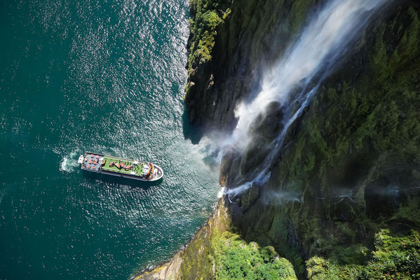 cruise new zealand milford fiord