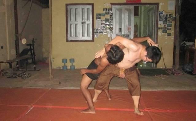 cambodian martial arts school