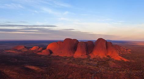 Uluru & Kata Tjuta Helicopter Scenic Flight
