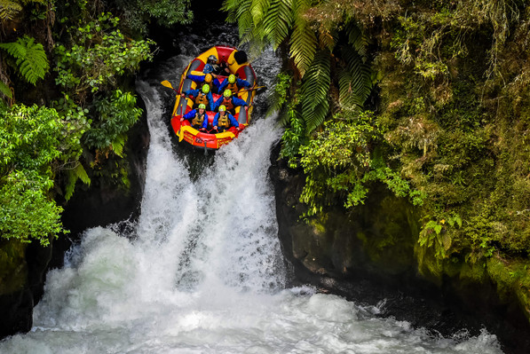 Kaituna New Zealand Waterfall