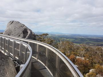 Granite Skywalk in the Porongurup National Park