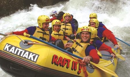 Rotorua White Water Rafting with Free Photos