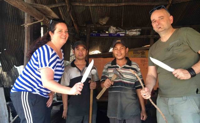 knife making khmer style
