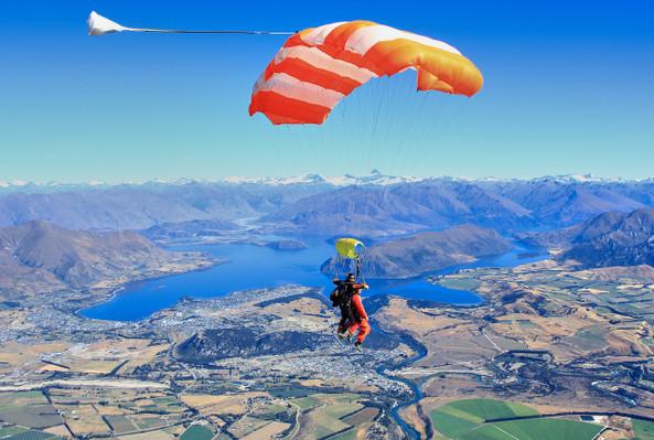 thrilling skydive adventure nz