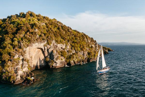 Lake Taupo Maori Rock Carvings Sailing Cruise Discount