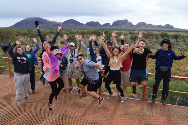 Alice Springs tour voucher