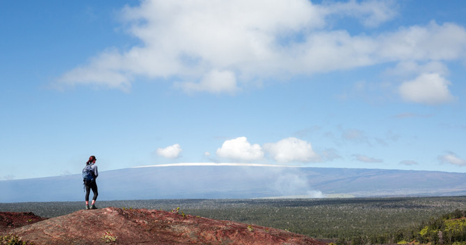 Big Island Volcano Hike