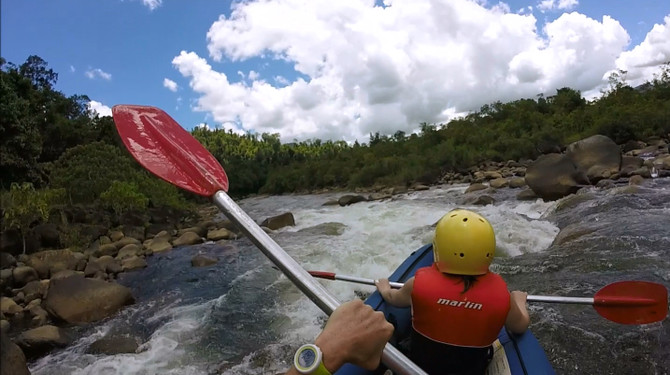 Tully River White Water Rafting - Mission Beach Queensland adventure