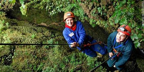 Waitomo Caves Lost World Abseiling and Caving